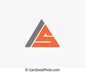 abc, ikon, állhatatos, levél, jel