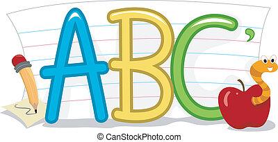 abc, oktatás
