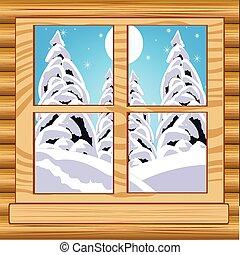 ablak kilátás