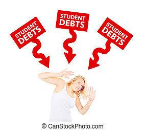 adósságok, fogalom, diák