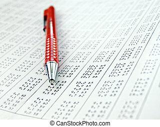 adatok asztal, számolás