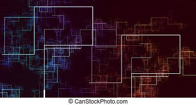 adatok, rács, hálózat