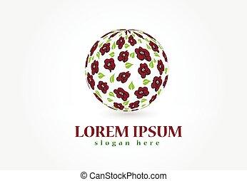 agancsrózsák, alakít, labda, jel