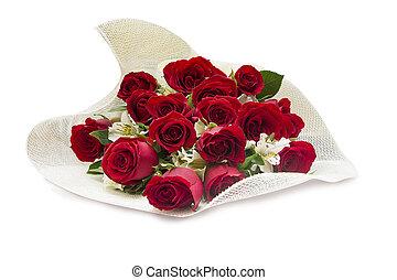 agancsrózsák, csokor