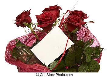 agancsrózsák, piros