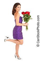 agancsrózsák, woman hatalom, boldog