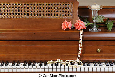agancsrózsák, zongora