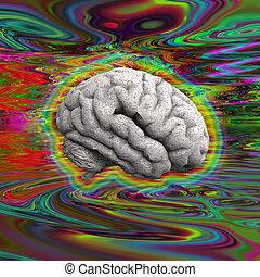 agyonüt, psychedelic
