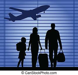 airport-an, család, ábra
