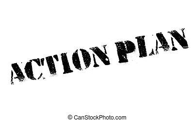akció, bélyeg, terv