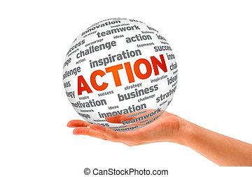 akció, gömb, 3, hatalom kezezés