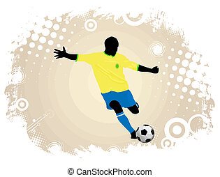 akció, játékos, futball