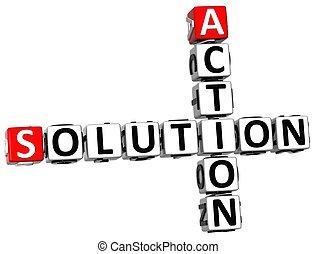 akció, keresztrejtvény, oldás, 3