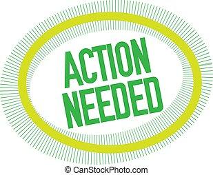 akció, needed, fehér, bélyeg