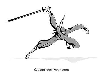 akció, ninja