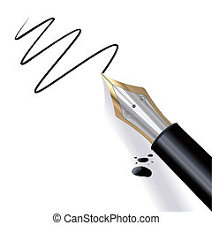 akol, szökőkút, írás