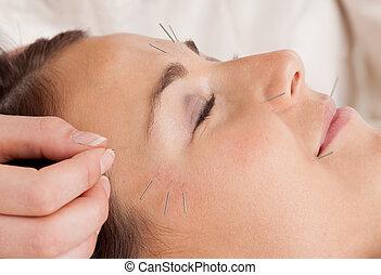 akupunktúra, bánásmód, arcápolás, részletez