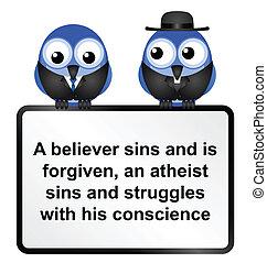 aláír, atheist