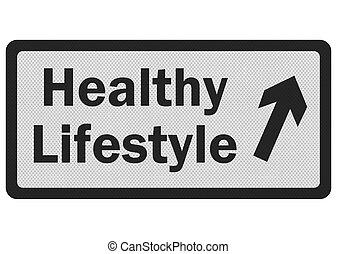 aláír, fénykép, lifestyle', elszigetelt, gyakorlatias, fehér, 'healthy