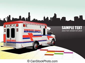 al-0743, mentőautó