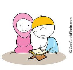 al-qur'an, felolvasás
