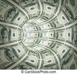 alagút, elvont, elkészített, pénz.