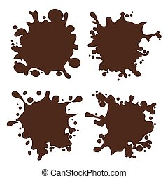 alakzat, loccsanás, csokoládé