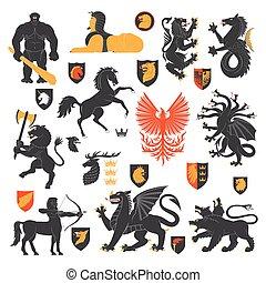 alapismeretek, állat 2, címertani