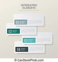 alapismeretek, címke, elvont, dolgozat, modern, infographic