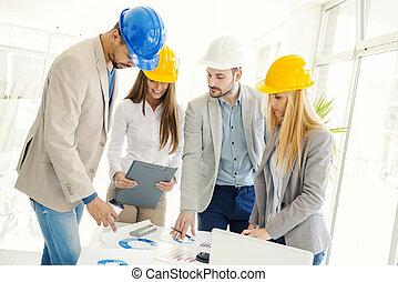 alaprajzok, szerkesztés, átvizsgálás, építészeti, munkás