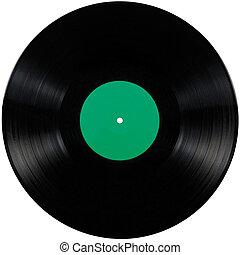 album, játék, disc;, elszigetelt, hosszú, hanglemez, fekete, vinyl, mikrobarázdás lemez, korong