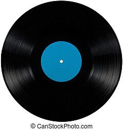 album, kék, játék, disc;, elszigetelt, hosszú, címke, fekete, vinyl, mikrobarázdás lemez, tiszta, cián, korong