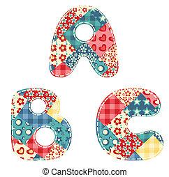 alphabet., paplan
