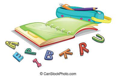 alphabets, könyv