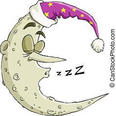 alszik hold