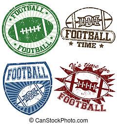 amerikai futball, topog