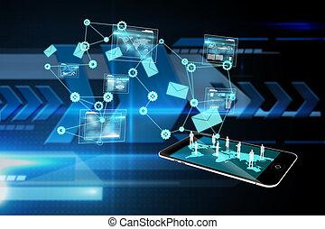 analízis, kép, határfelület, összetett, háttér, adatok