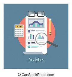 analytics, statisztika, ábra