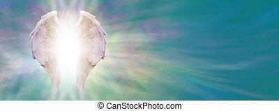 angel szárny, gyógyulás, fény