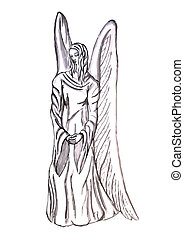 angel szobor