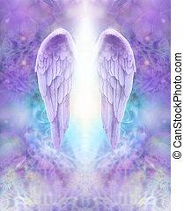 angyal, orgona, kasfogó, isteni, fény