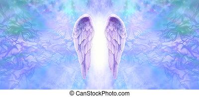 angyal, orgona, transzparens, kasfogó