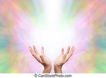 angyali, energia, kuruzsló