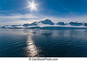 antarktisz, paradicsom öböl
