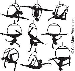 antenna, abroncs, akrobata