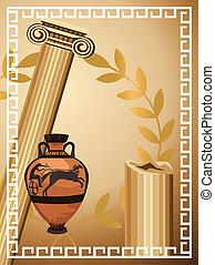 antik, görög, jelkép