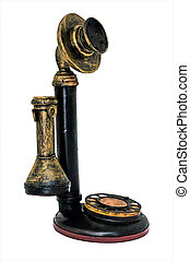 antik, gyakorlatias, telefon