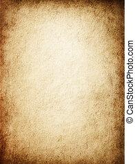 antik, yellowish, pergament