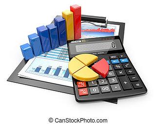 anyagi, ügy, számológép, analytics., reports.