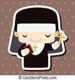 apáca, téma, alapismeretek, lelkipásztor